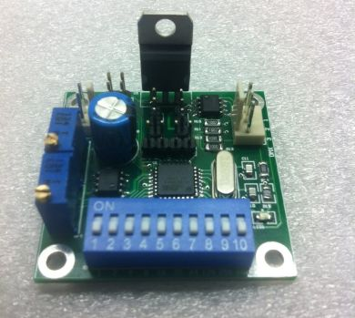 Dual channel DMX512 RC-Servo driver